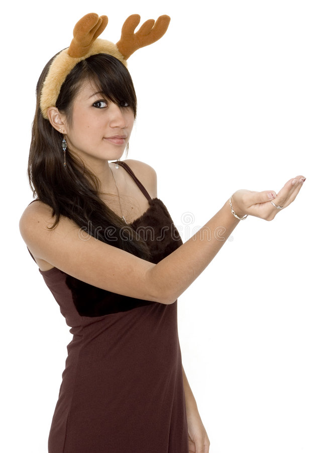 Download Cute Girl Holding ... 2 stock image. Image of look, earring - 1420045