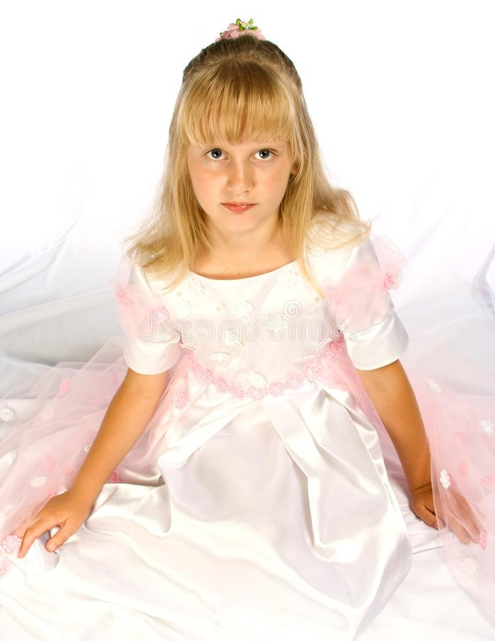 Free Cute Girl In A Beautiful Dress Royalty Free Stock Photos - 11631188