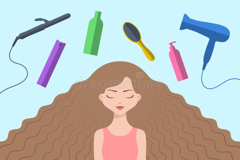 Haircare Stock Illustrations 3 987 Haircare Stock Illustrations Vectors Clipart Dreamstime
