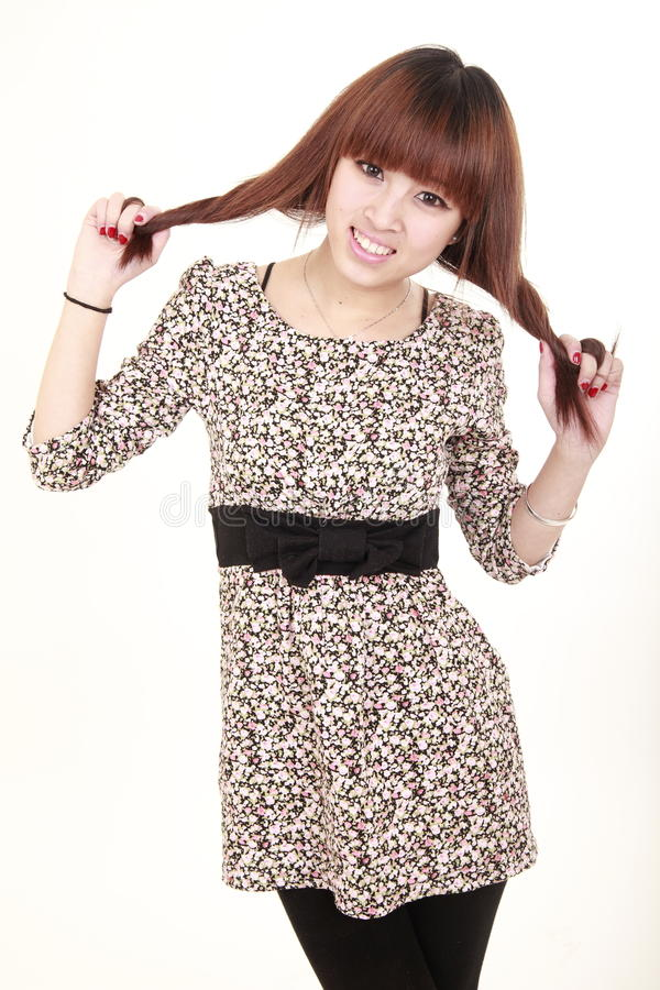 Download Cute Girl With Smile Stock Image - Image: 12955171