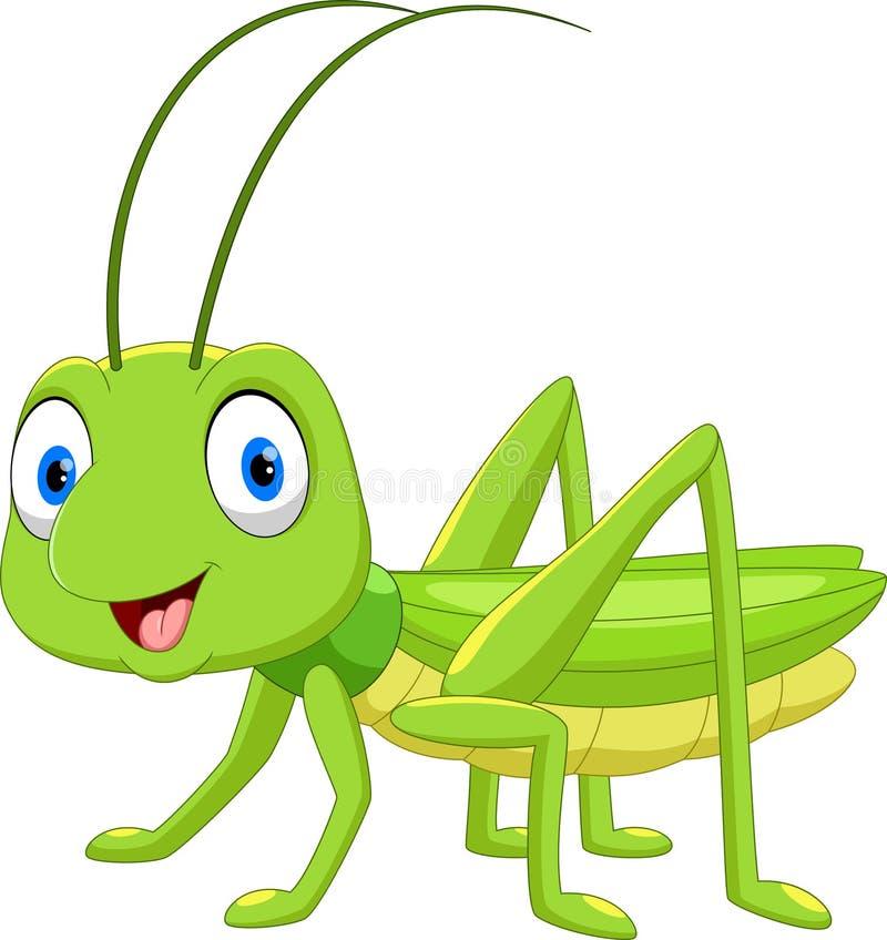 Free Cute Grasshopper Cartoon Royalty Free Stock Photo - 123353655