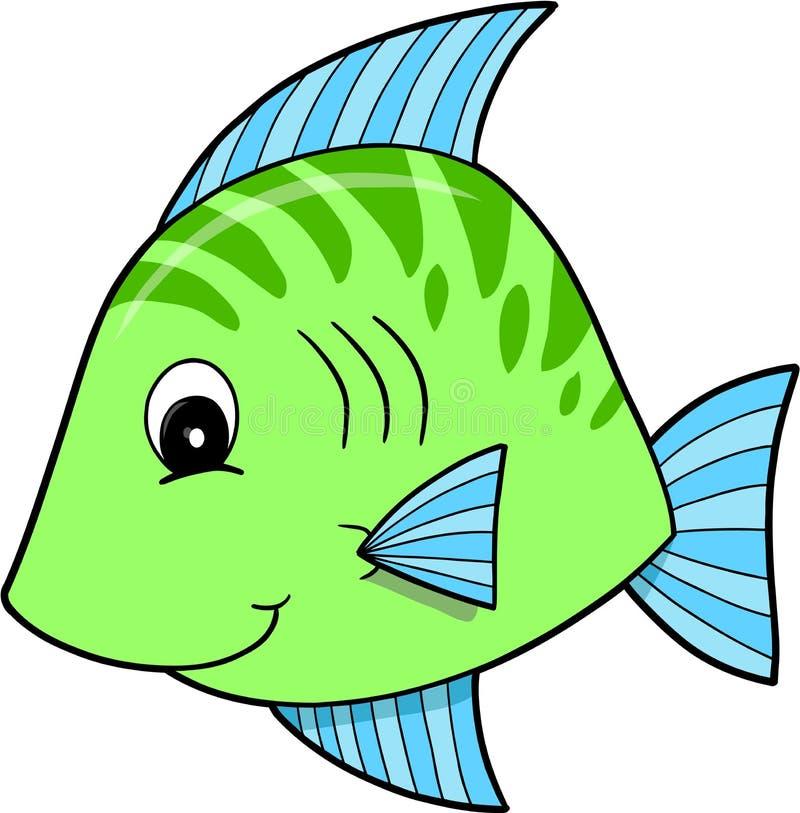 Cute Green Fish