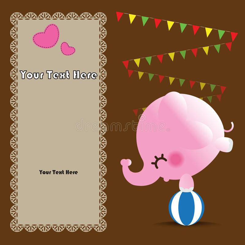 Download Cute Greeting Card Stock Image - Image: 27331231