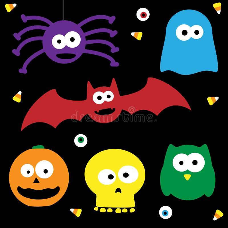 Download Cute Halloween Characters stock vector. Image of hallween - 21166943