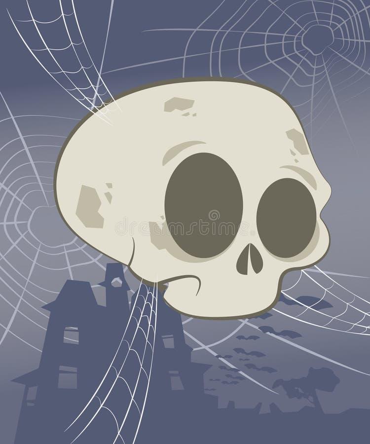Download Halloween Skull Scene stock vector. Image of skeleton - 29838499