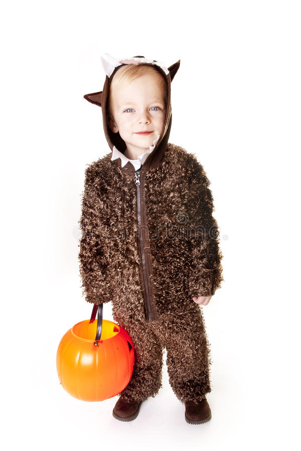 Free Cute Halloween Trick-or-Treater Royalty Free Stock Image - 26731386