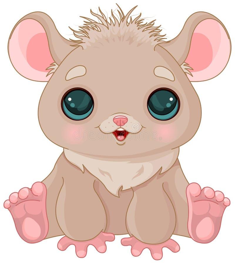 Cute Hamster. Illustration of very cute hamster royalty free illustration