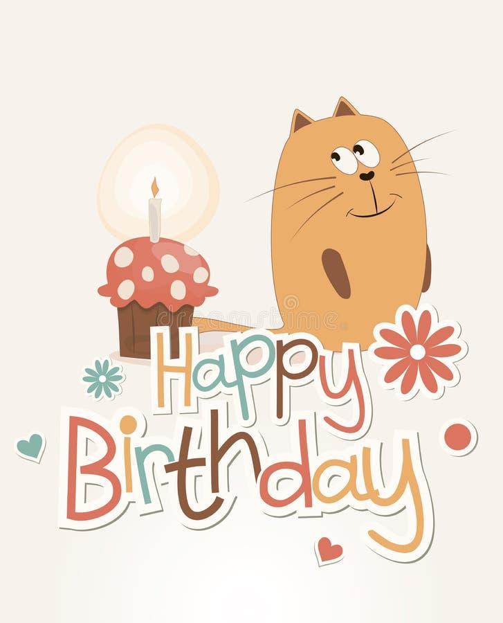 Cute happy birthday card stock vector illustration of beautiful download cute happy birthday card stock vector illustration of beautiful 25656737 bookmarktalkfo Gallery