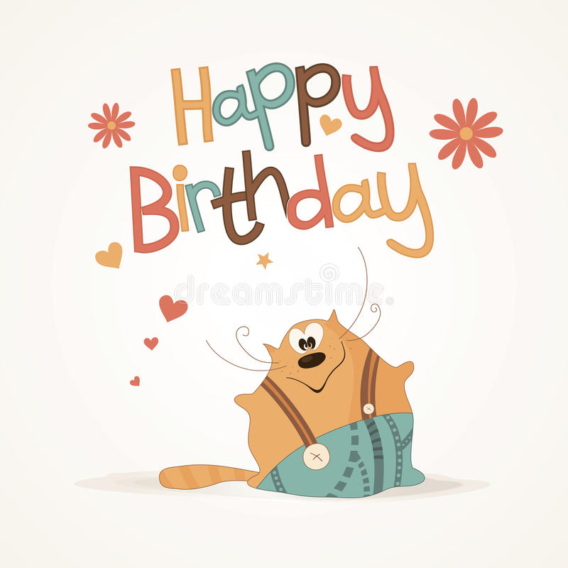 Cute happy birthday card stock vector illustration of bright download cute happy birthday card stock vector illustration of bright 25656961 bookmarktalkfo Gallery