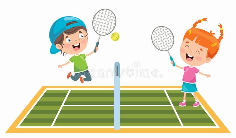 Kids Tennis Stock Illustrations 1 794 Kids Tennis Stock Illustrations Vectors Clipart Dreamstime