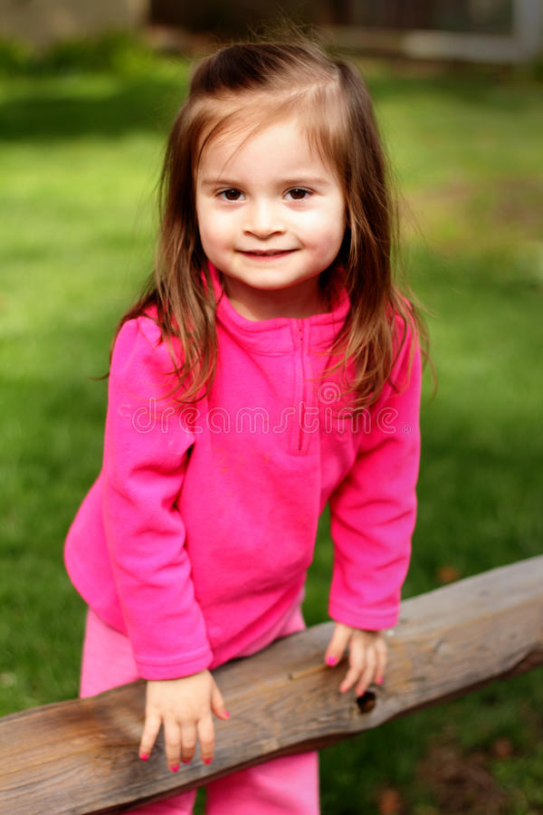 Little 2 year old toddler royalty free stock photography