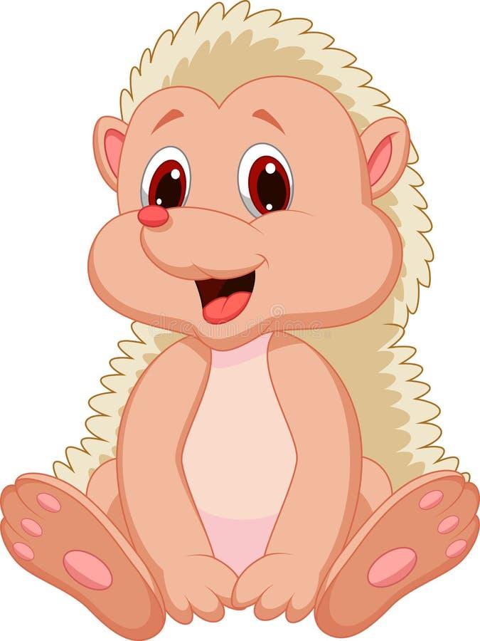 Download Cute hedgehog cartoon stock vector. Image of domestic - 33235925