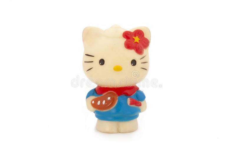 Cute Hello Kitty mini toy royalty free stock images
