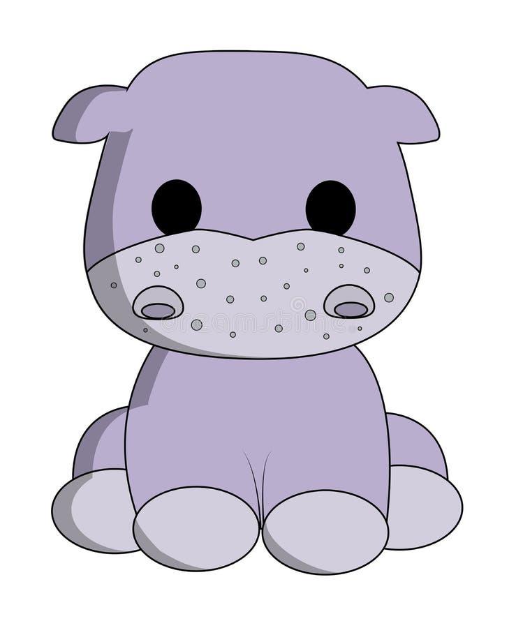 Download Cute Hippo Cartoon Royalty Free Stock Photo - Image: 34856305