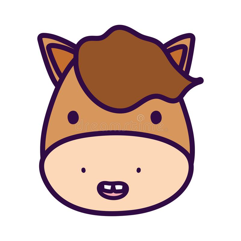 Cute Lion Mascot Cartoon Illustration Animal Wildlife Icon Concept: Domestic Animal Cute Cartoon Stock Vector