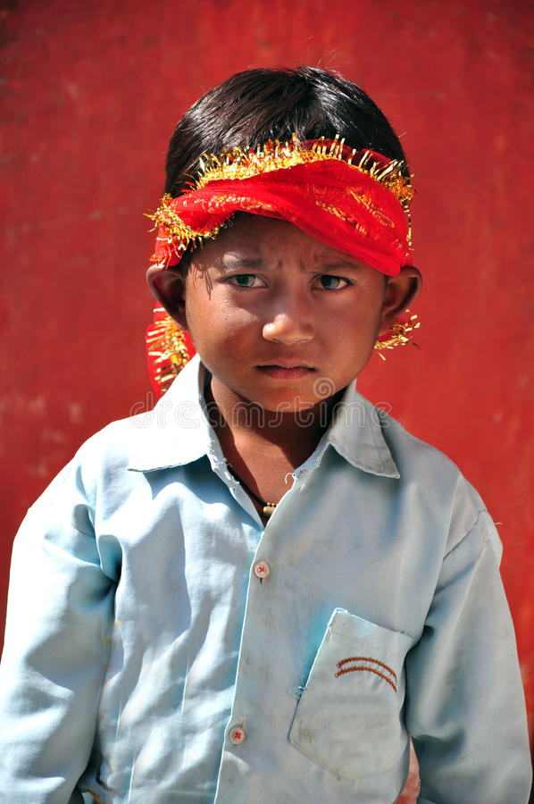 Cute indian child royalty free stock images