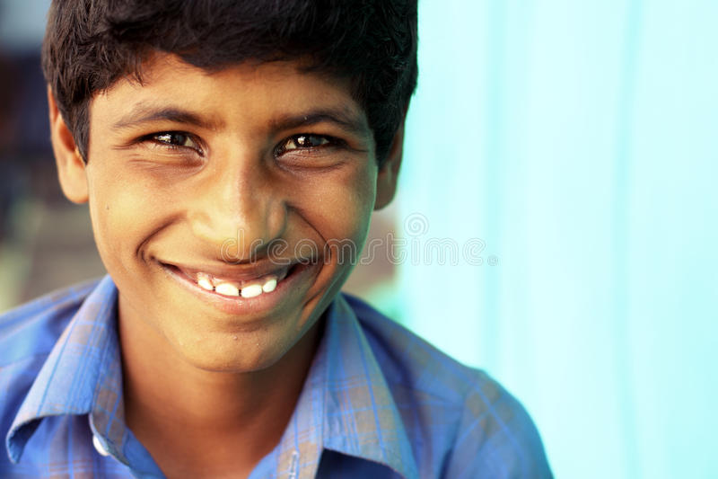Download Cute Indian little boy stock image. Image of male, face - 20813725