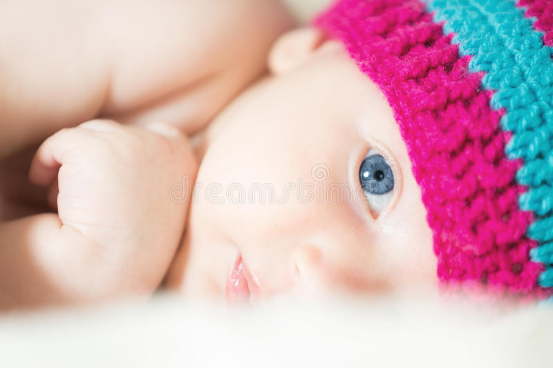 Cute infant royalty free stock image