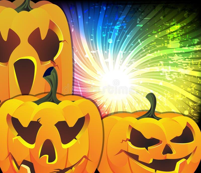 Download Cute Jack O lanterns stock vector. Illustration of copy - 21654829