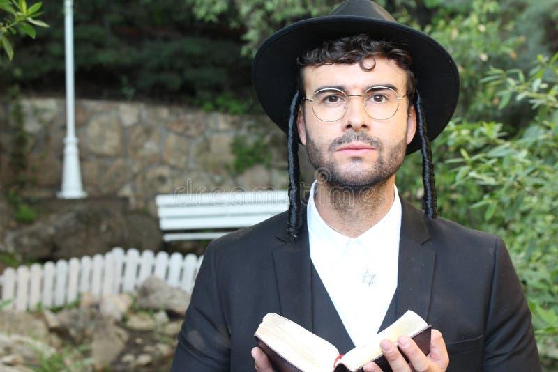 Cute Jewish Man Looking At Camera Stock Image - Image of