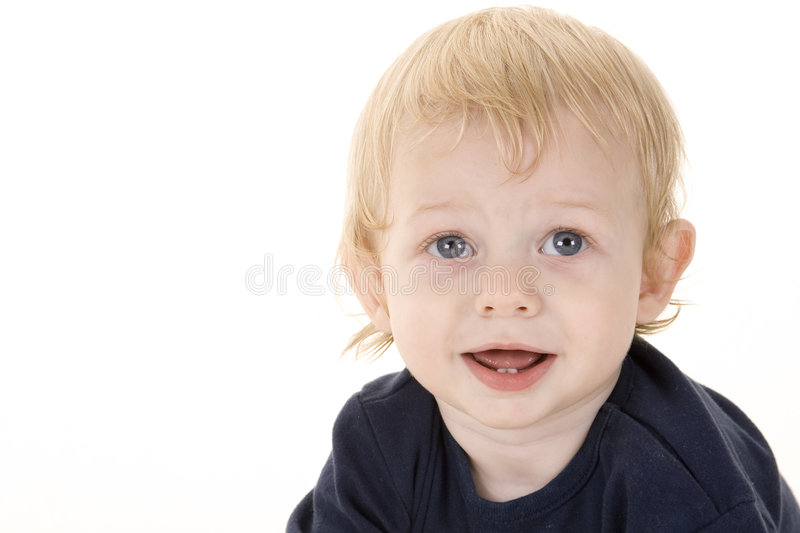 Download Cute Kid 4 stock image. Image of background, blond, smile - 207123