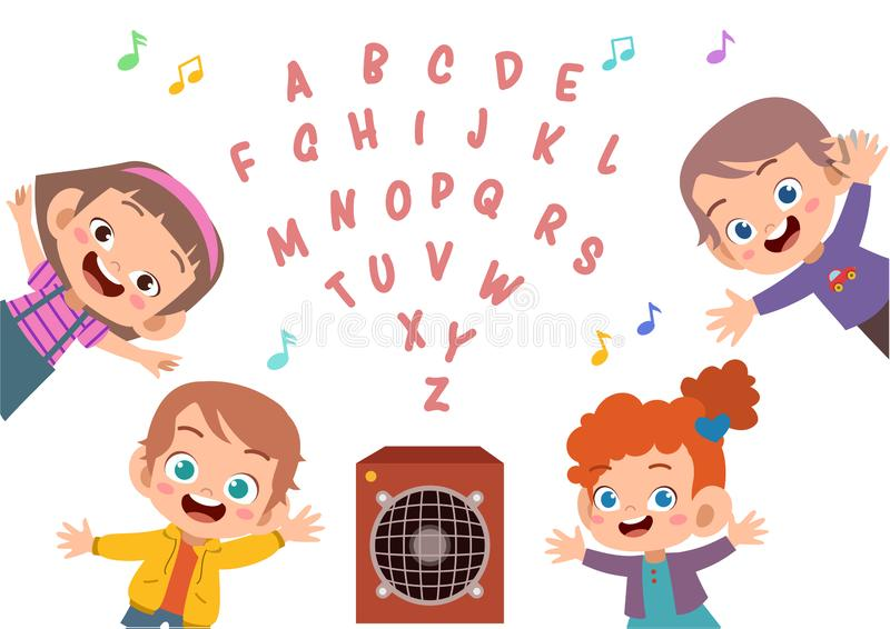Cute kid alphabet vector set. Font, letter, english, background, abc, school, typography, collection, design, isolated, fun, type, color, poster, text vector illustration