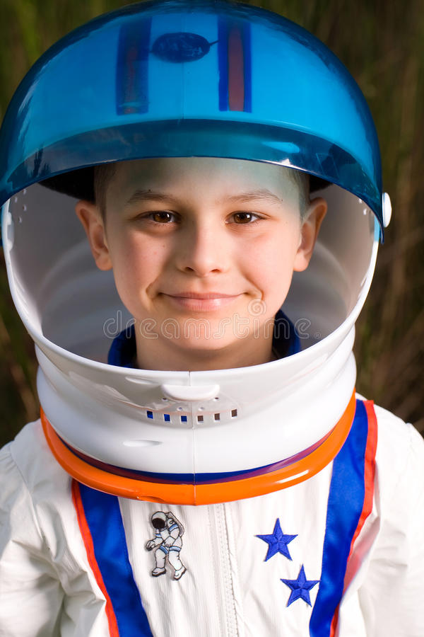 Download Cute Kid Dressed As An Astronaut Stock Photo - Image: 22688026
