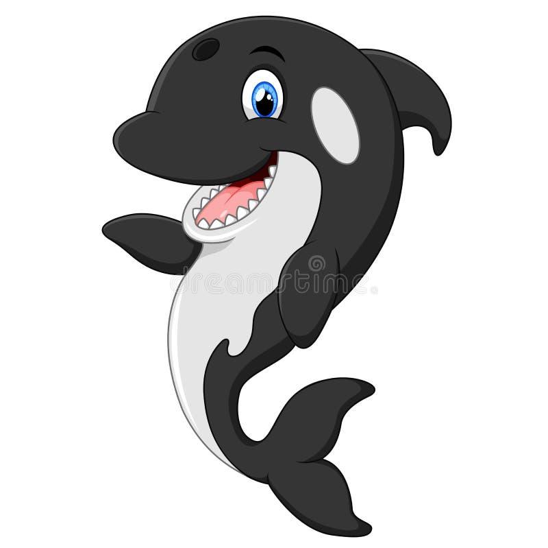Orca Whale Cartoon Cute Killer Wha...