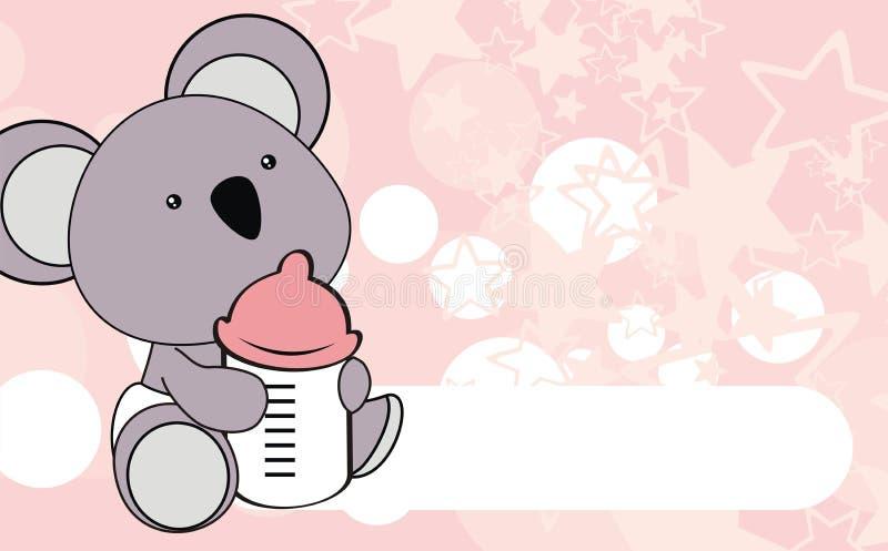 Cute koala baby cartoon background stock vector illustration of download cute koala baby cartoon background stock vector illustration of sweet small 65061542 voltagebd Images