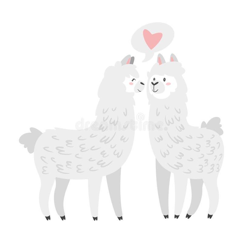 Free Cute Lama. Alpaca Animal Stock Images - 134436474