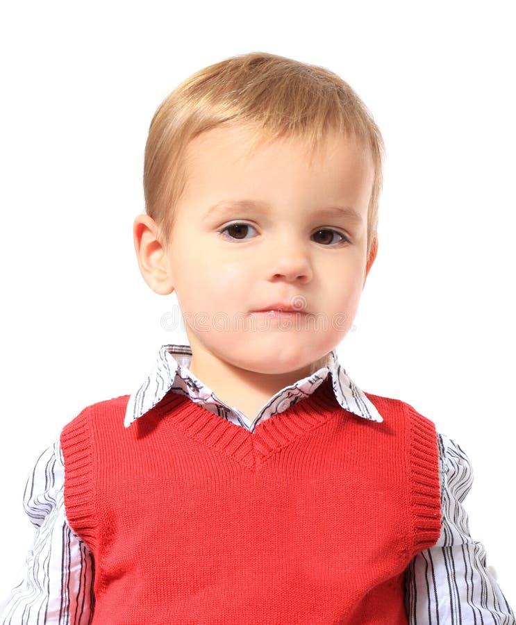 Download Cute litte boy stock image. Image of caucasian, children - 17453501