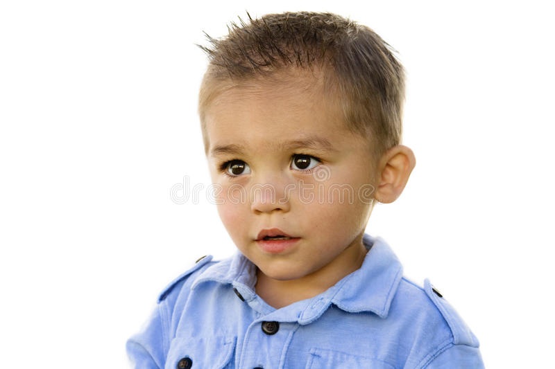 Cute Little Boy (Hispanic) royalty free stock photos