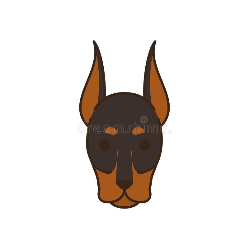MINIATURE PINSCHER CHARMING DOG GREETINGS NOTE CARD BEAUTIFUL HEAD STUDY