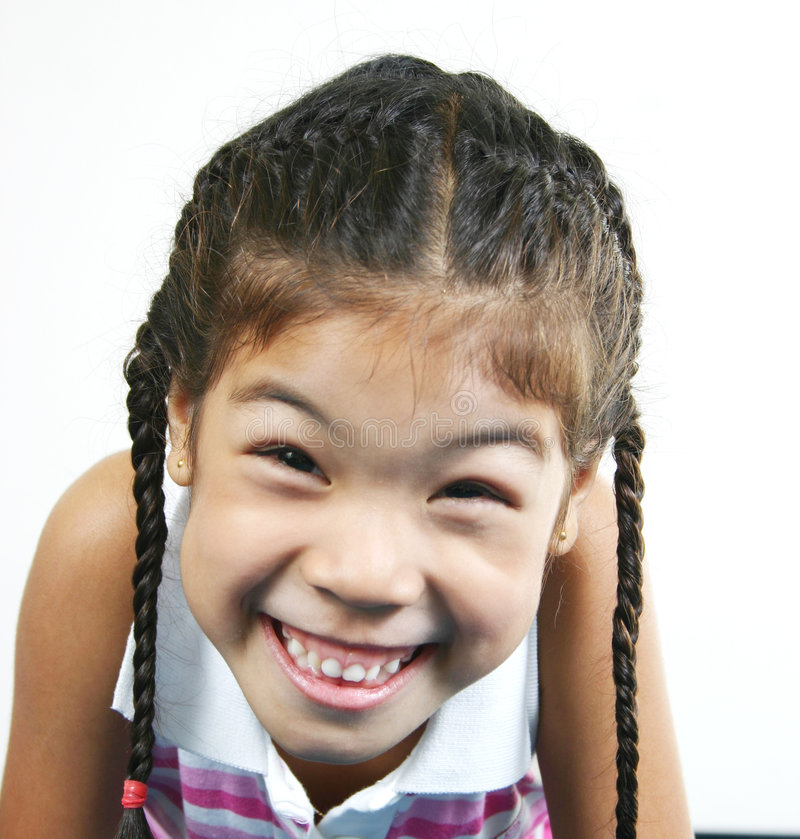 Cute little girl 005 stock photography