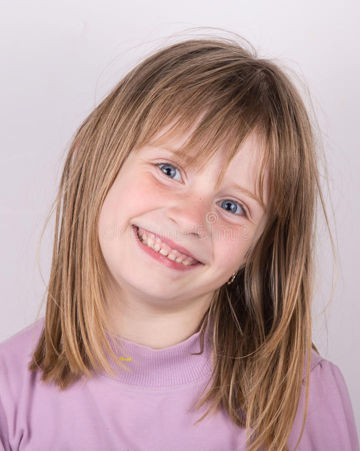 Free Cute Little Girl Stock Image - 33501211