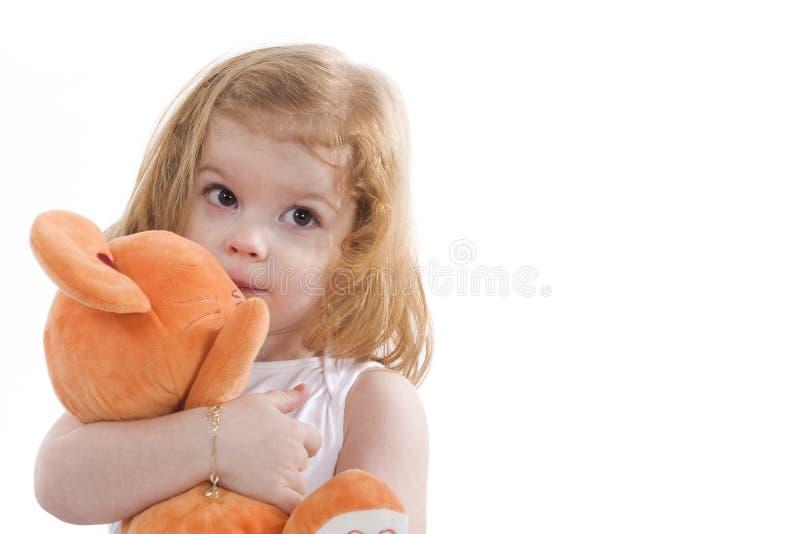 Download Cute little girl stock image. Image of people, joyful - 4436187