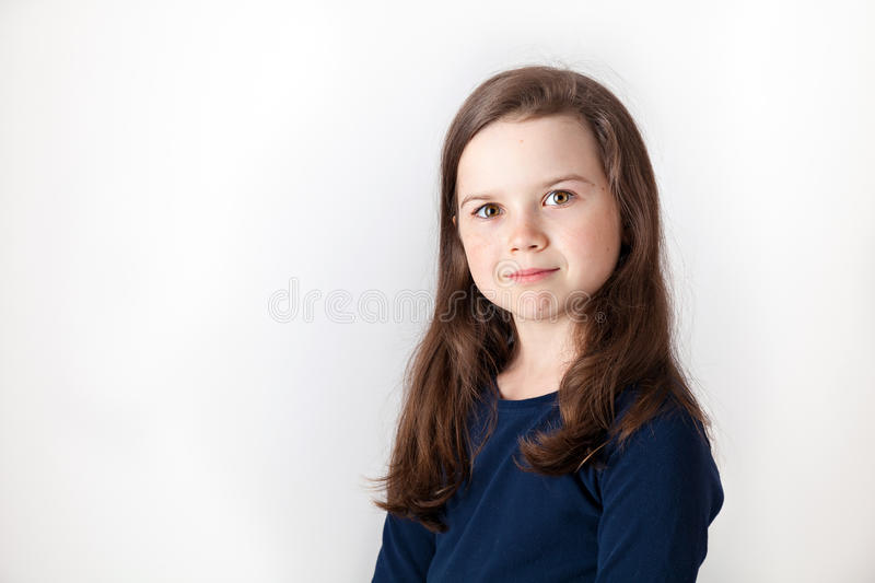 Download Cute little girl stock image. Image of camera, inside - 33316951