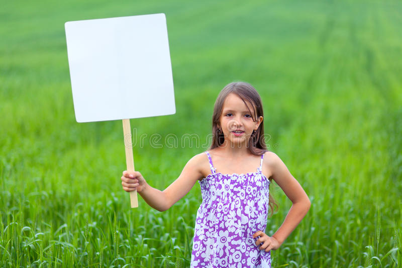 Download Cute Little Girl On Neutral Background Stock Image - Image: 26625223