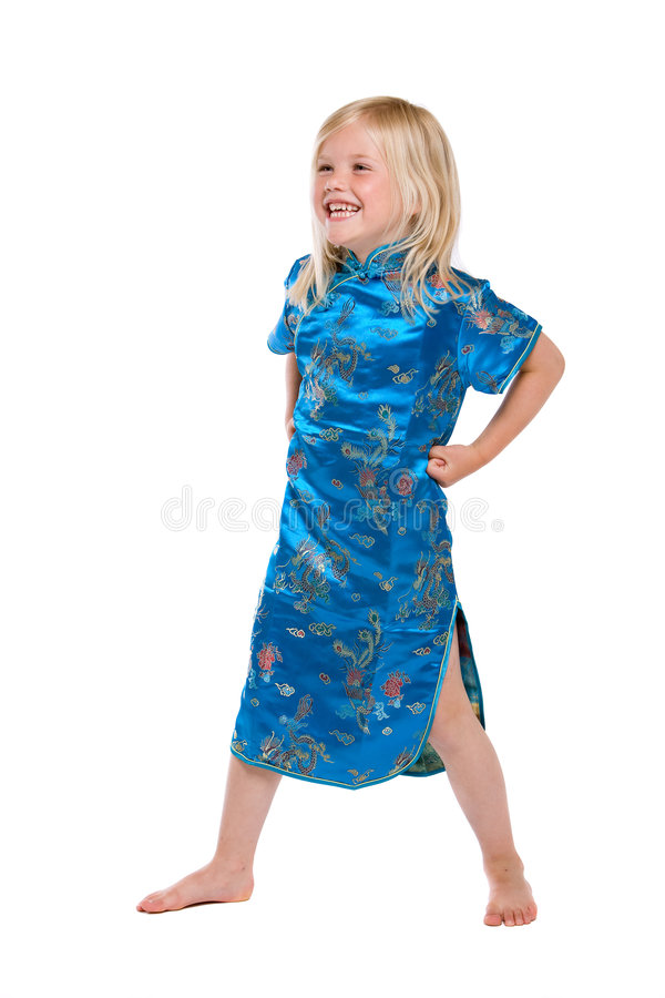 Download Cute little model stock image. Image of kids, person, laugh - 5328597