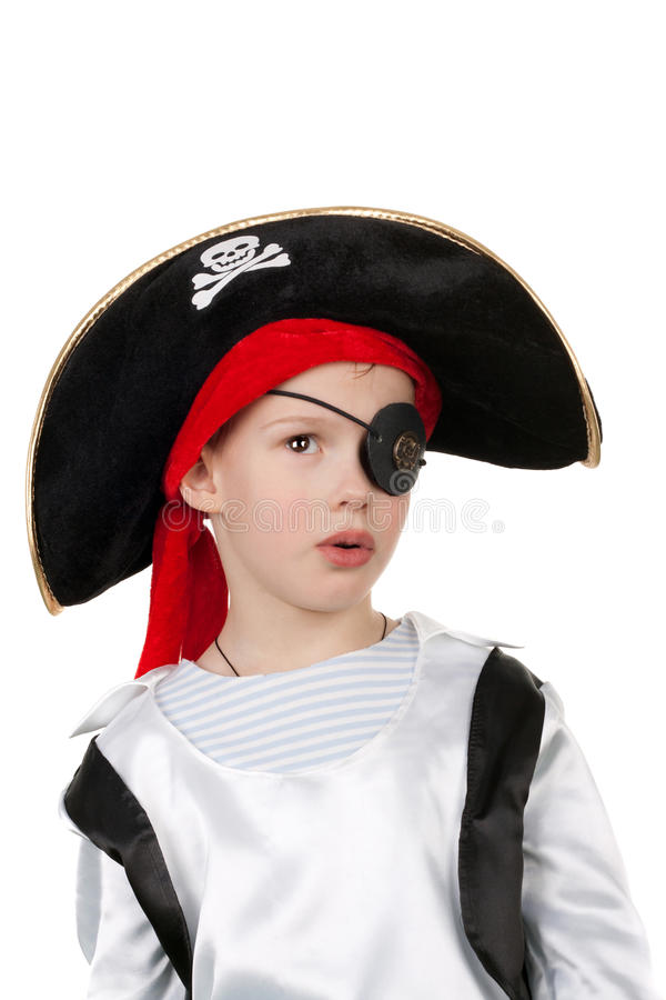 Download Cute little pirate stock photo. Image of dress, copy - 22413750