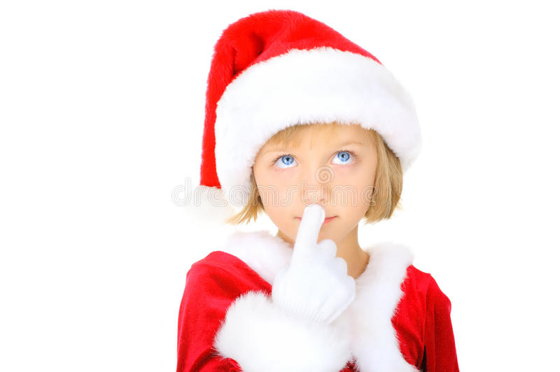 Download Cute Little Santa Claus Royalty Free Stock Image - Image: 16869956