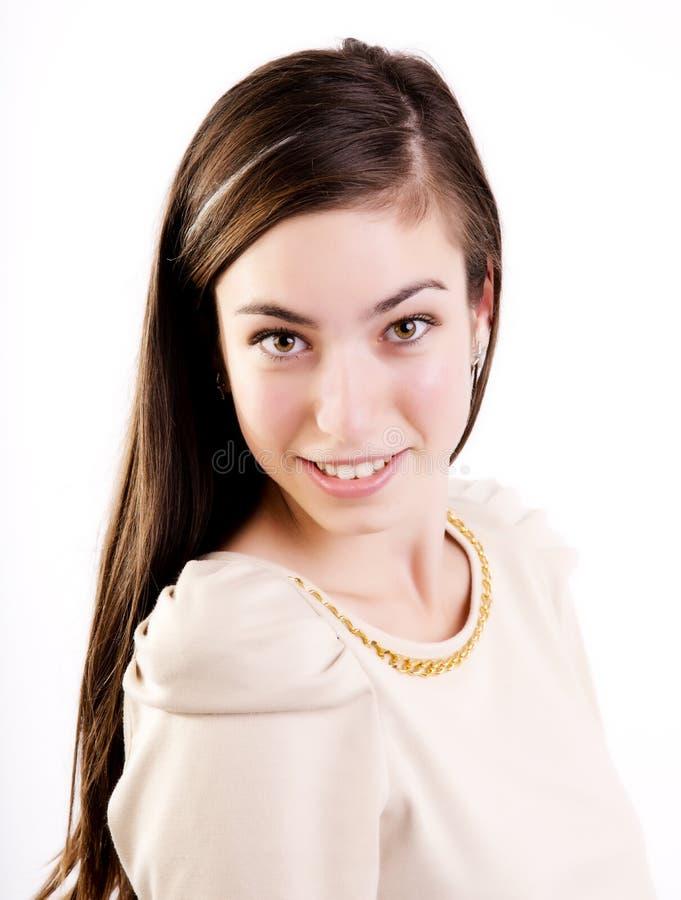 Cute looking teenager royalty free stock photos