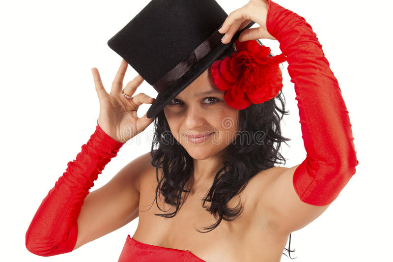 Cute magician royalty free stock images
