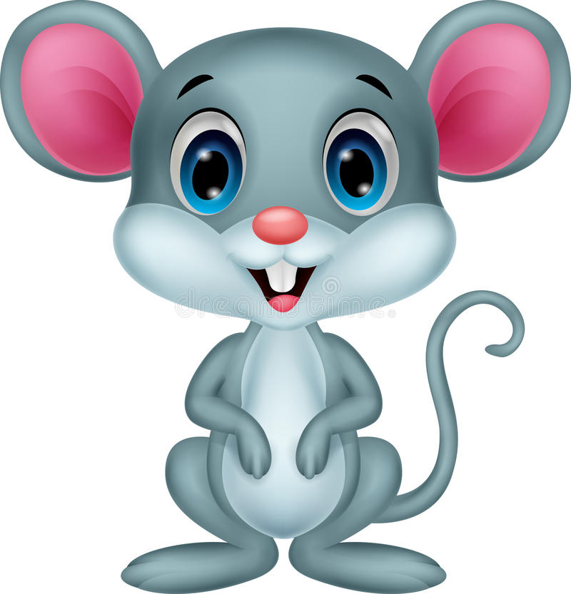 Free Cute Mouse Cartoon Stock Images - 45710094