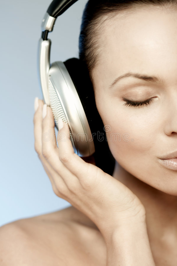 So Cute & Music royalty free stock image