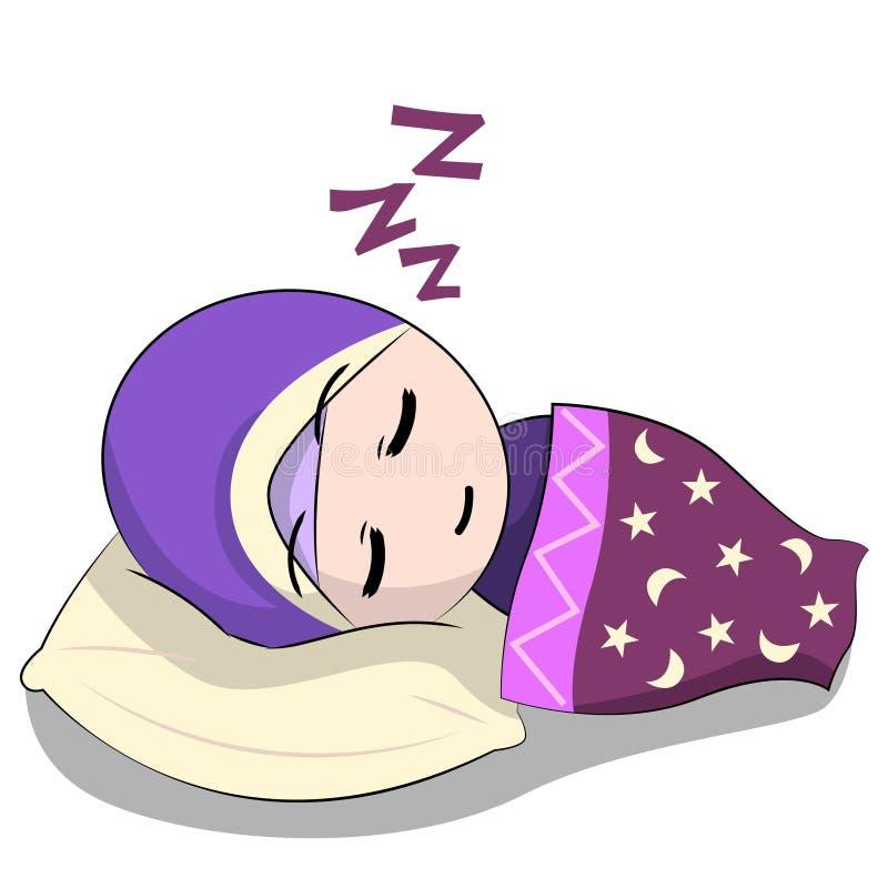 Free Cute Muslim Children&x27;s Cartoon. Cartoon Children&x27;s Daily Fun Activity. Vector Female Cartoon Character. Royalty Free Stock Images - 169798659