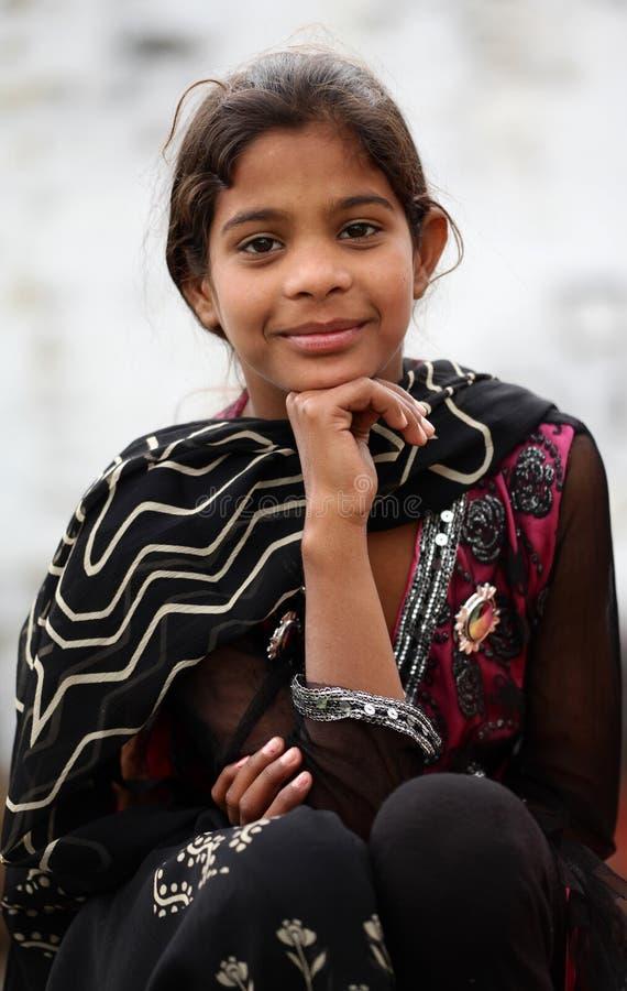 Cute muslim girl royalty free stock photography