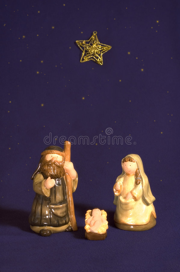 Download Cute Nativity Scene Stock Image - Image: 6865201