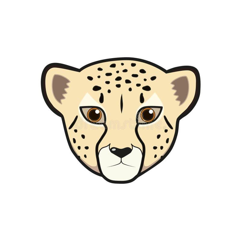 Cute Cheetah Cartoon Stock Vector. Illustration Of Comic