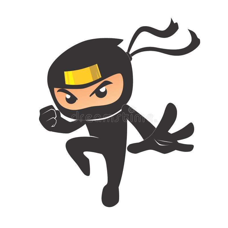 cute ninja stock illustration. illustration of horror - 98837767